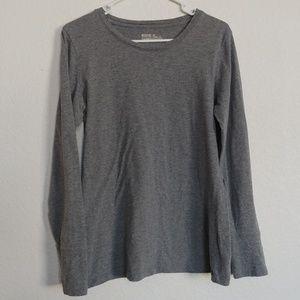 Women's XL ~ Mossimo ~ casual gray long sleeve tee